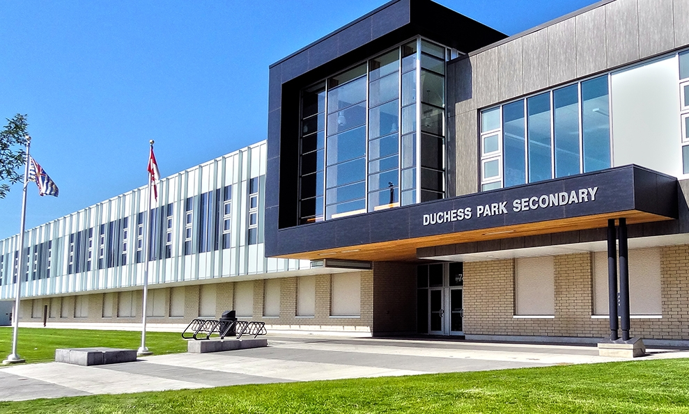 DUCHESS PARK SECONDARY SCHOOL - Prince George, BC