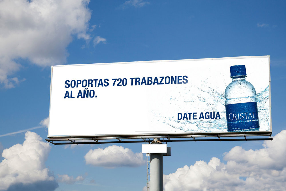 High-traffic zone Billboard:  You endure 720 traffic jams a year. Take a break.