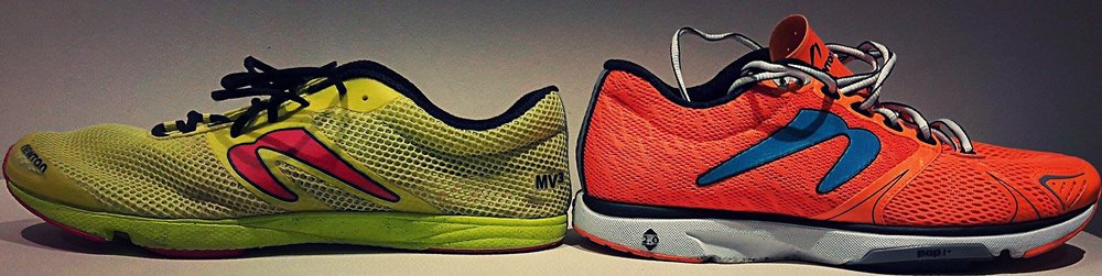 Newton MV3 (left) and Newton Distance V (right)