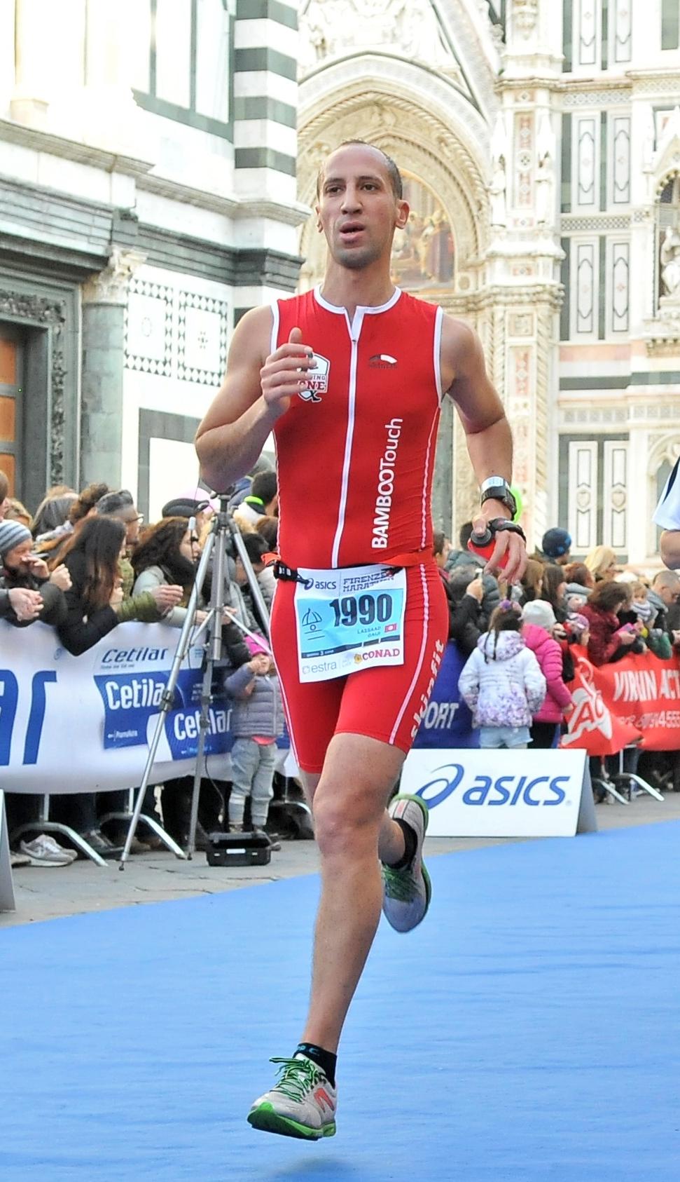 Florence Marathon 2016 - Finish line
