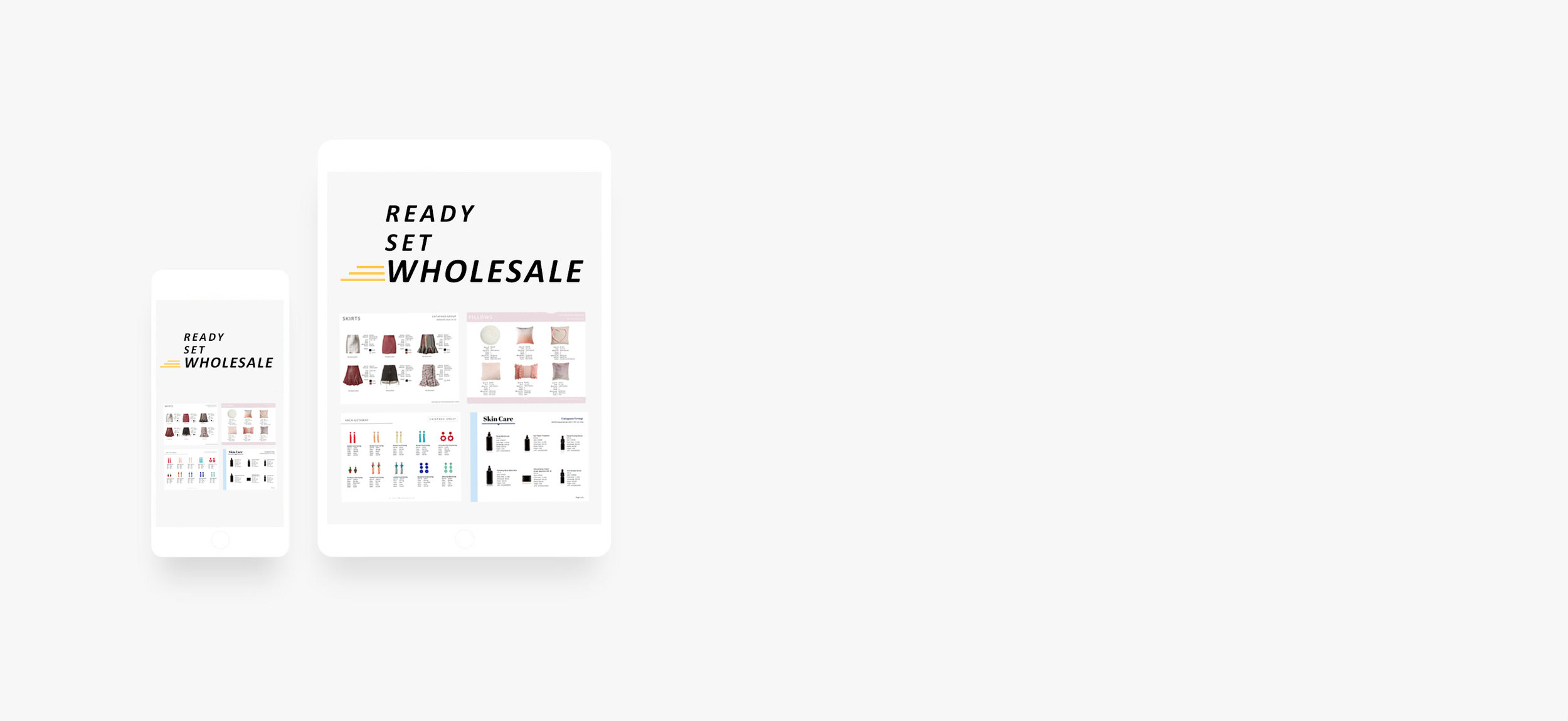 wholesale line sheet template tutorial catapano group