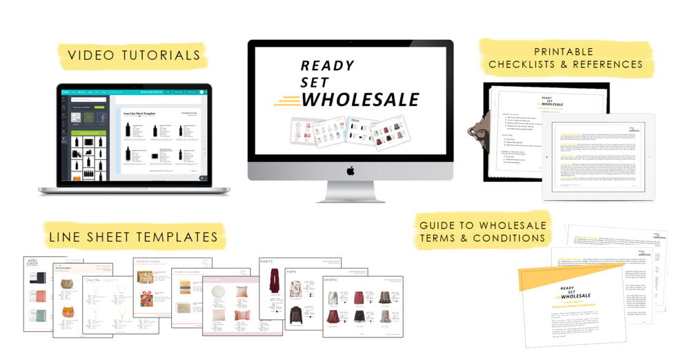 How To Create A Wholesale Line Sheet CATAPANO GROUP - Wholesale line sheet template