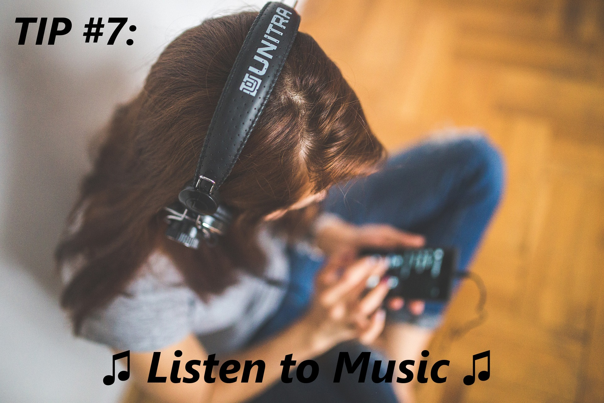 fastest way to get in the writing zone? Listen to music!