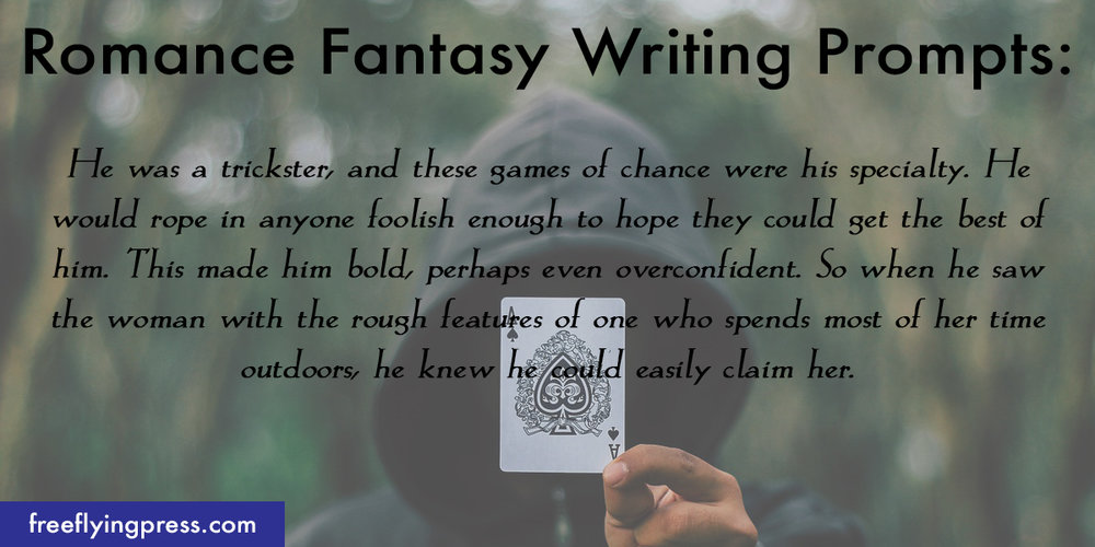 romance fantasy writing prompts