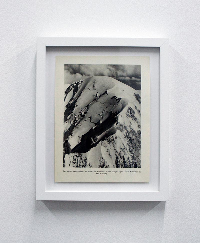 Mont Blanc 1935 , Photogravure
