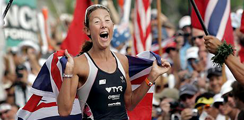CHRISSIE WELLINGTON Four time World Ironman Champion: 2007, 2008, 2009, 2011