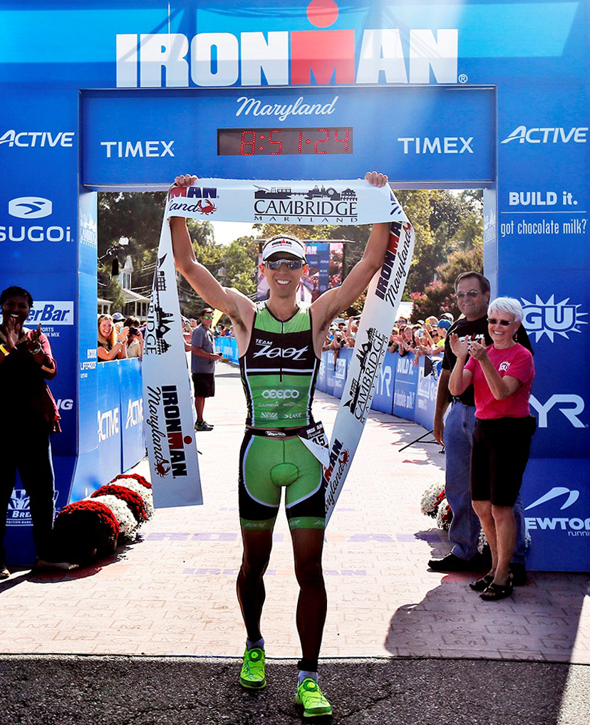 MATT BACH     2015 Ironman Maryland Champion