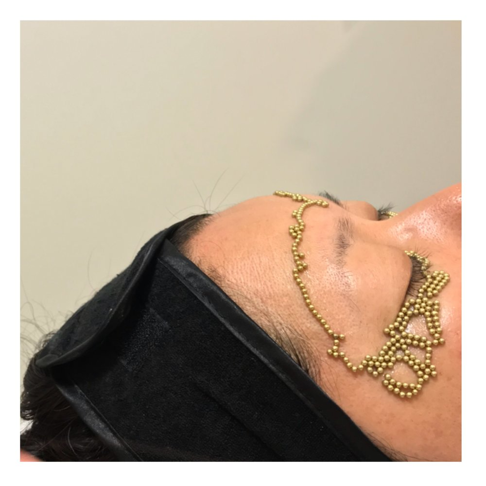 Qi beauty customised eye treatment. Qi beauty international, Gold Coast.