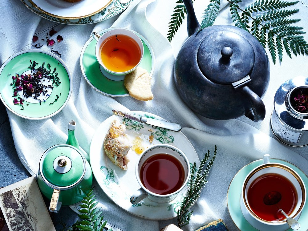 Try a Tea Ceremony for Qi -