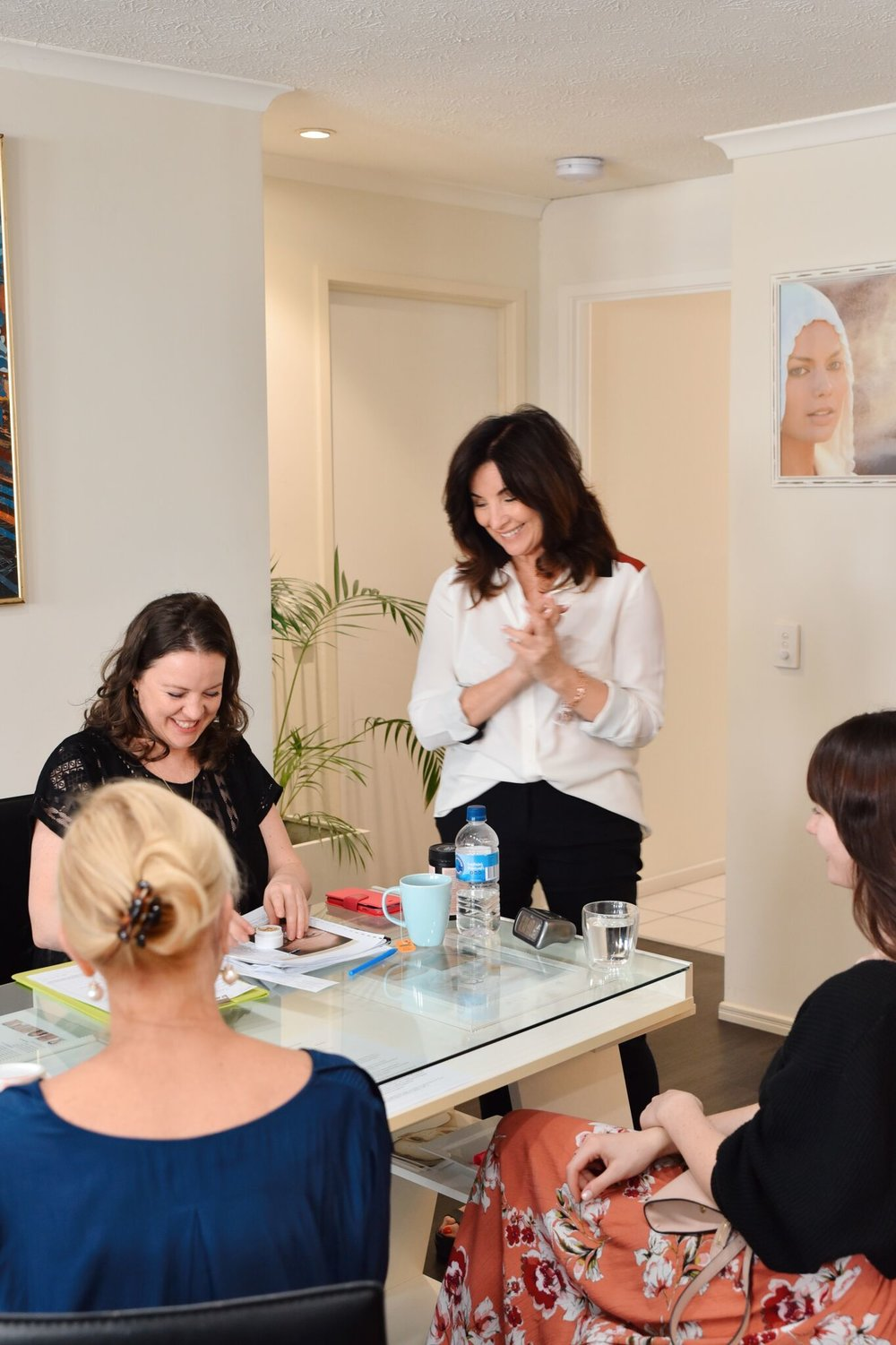 Qi beauty practitioner training on the Gold Coast, Australia