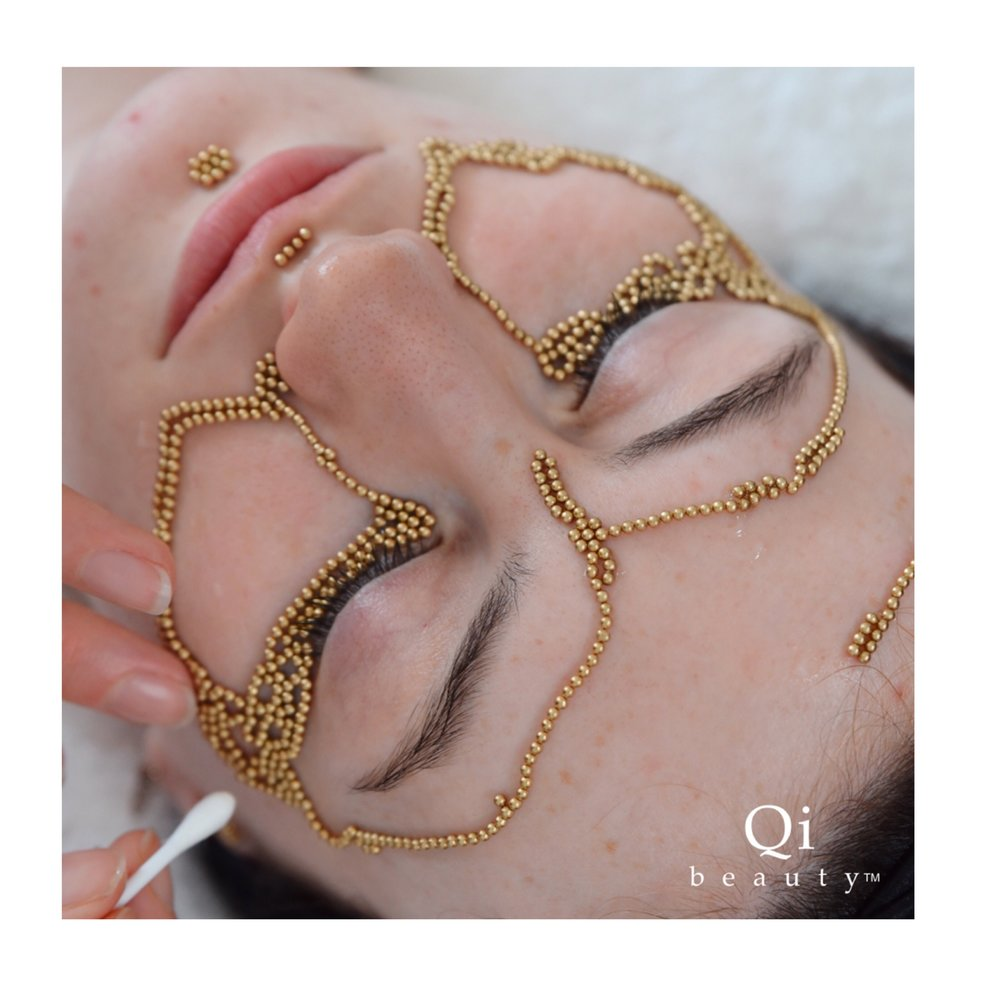 A customised face Matrix is designed after assessing skin and determining the qi - skin- deficiencies presenting.