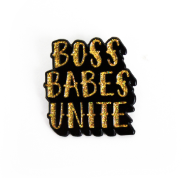 Boss Babes Unite Lapel Pin