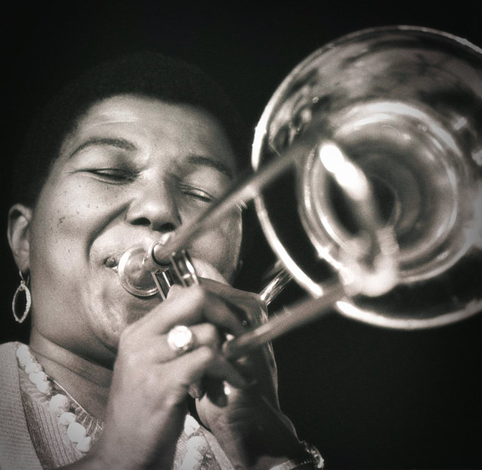 Melba Liston , jazz trombonist, composer, and arranger.
