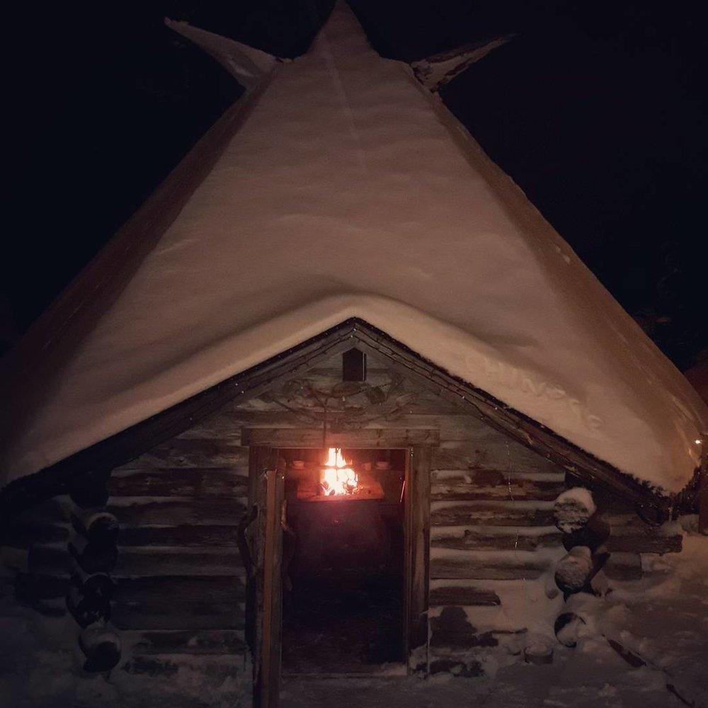 Lappish hut