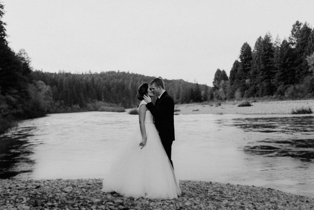 Redwoods Wedding | Blush Dress | Oregon Destination Photographer : Jessicaheronimages.com