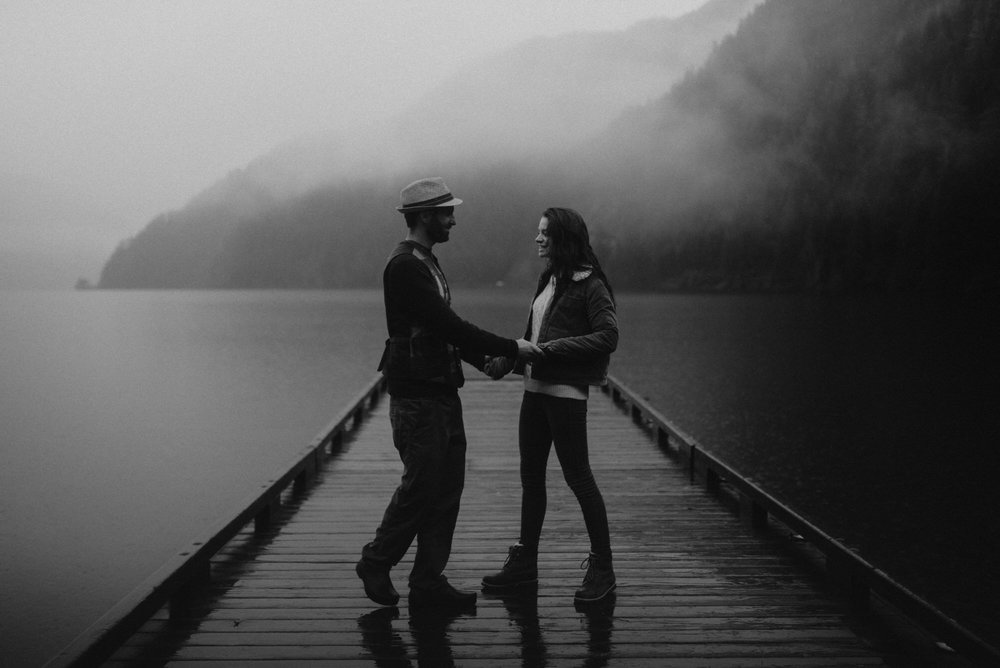 Rainy Olympic Coast Engagements , Lake Crescent Engagements , Olympic Peninsula , Jessica Heron Images, Rainy Engagements , Northwest Photographer jessicaheronimages.com:blog 1028.JPG