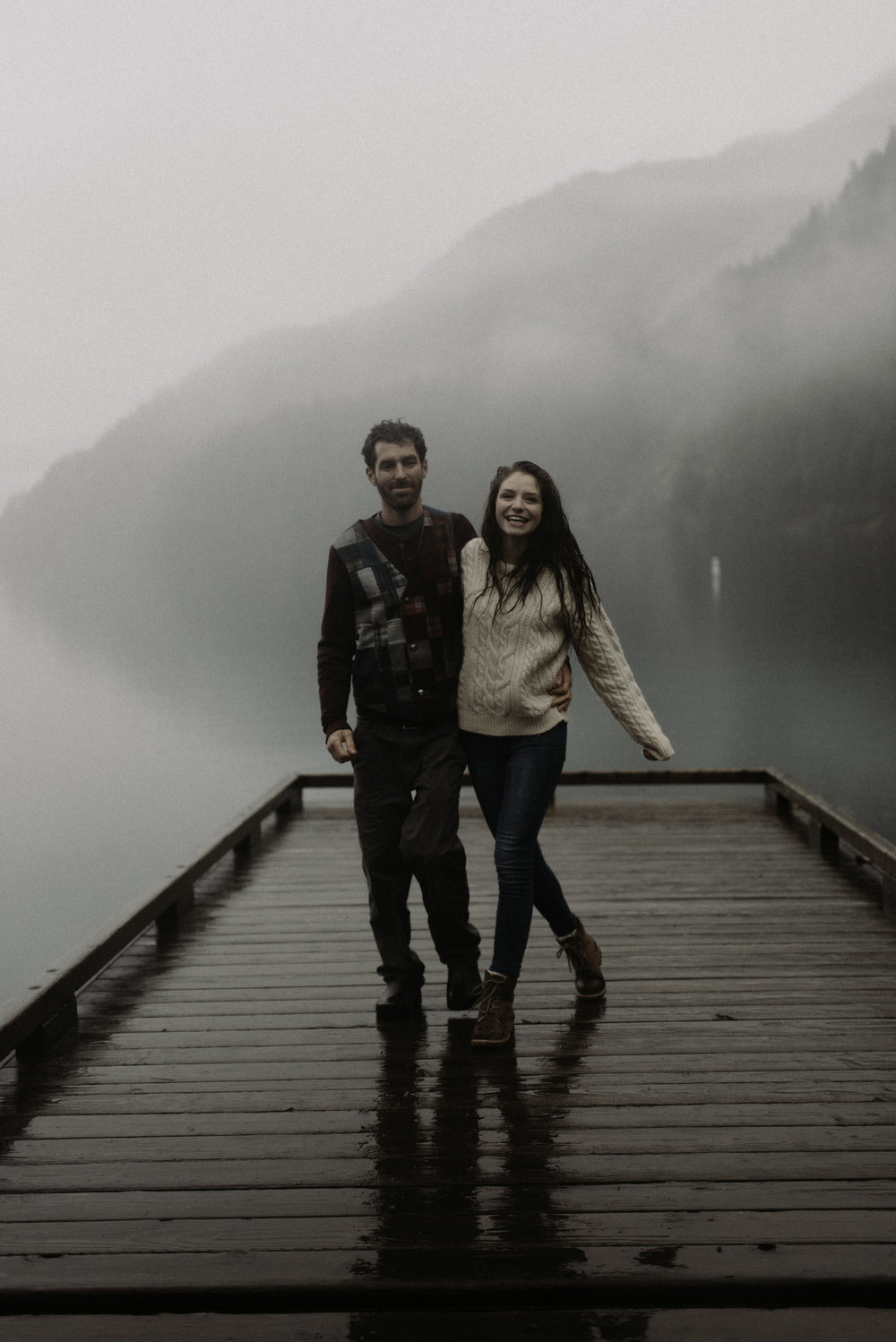Rainy Olympic Coast Engagements , Lake Crescent Engagements , Olympic Peninsula , Jessica Heron Images, Rainy Engagements , Northwest Photographer jessicaheronimages.com:blog 1052.JPG