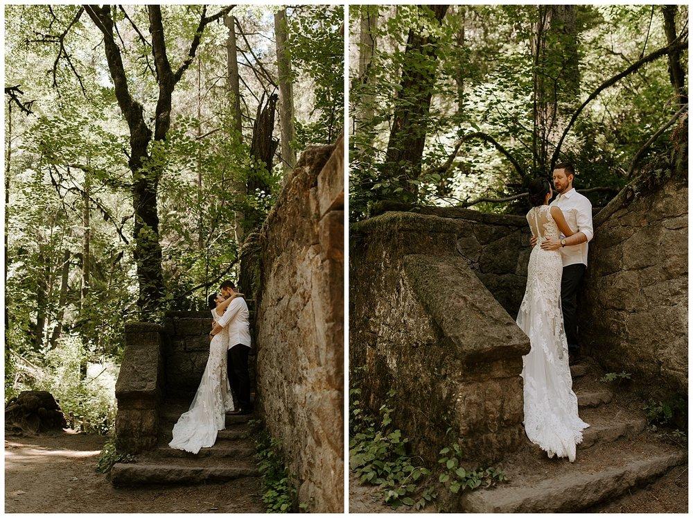 Portland Rooftop Wedding - Eastside Exchange Forest Park Bridals - Jessicaheronimages.com