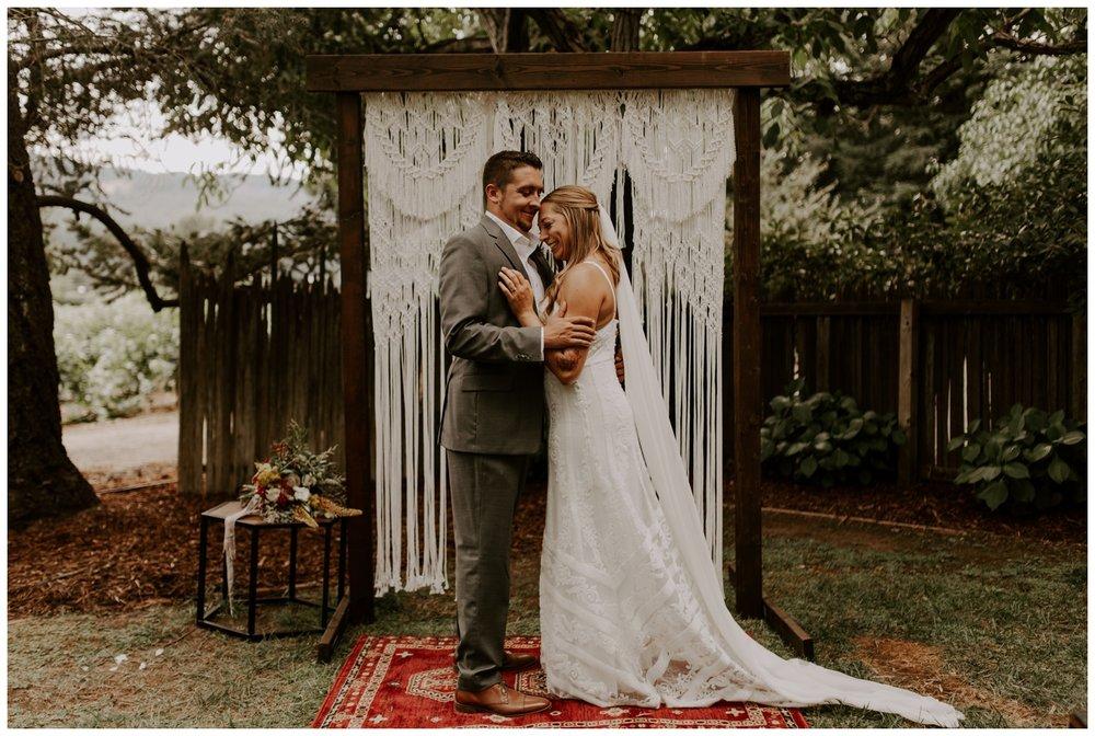 Napa Valley Backyard Wedding and Reception at Elizabeth Spencer Winery | Jessica Heron Images 084.jpg