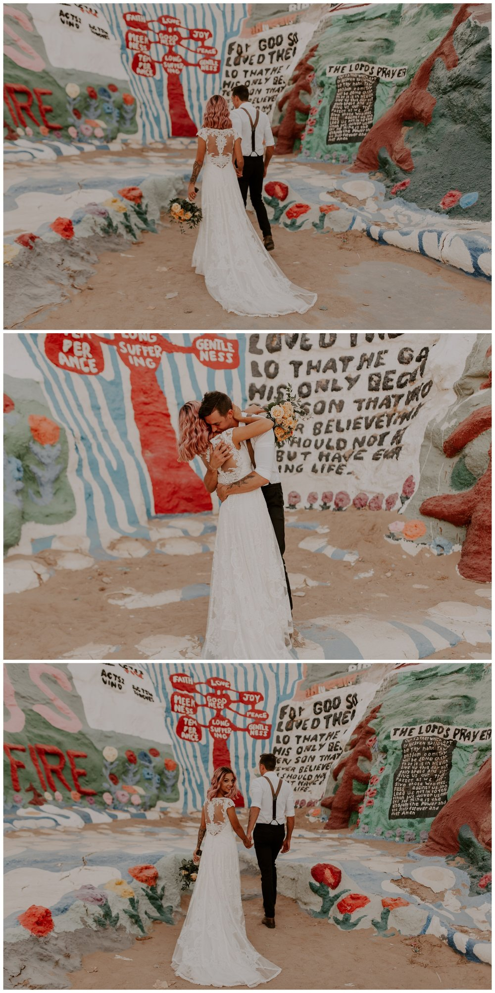 Salvation Mountain Elopement Palm Springs Pink Hair Bride - Jessica Heron Images_0120.jpg