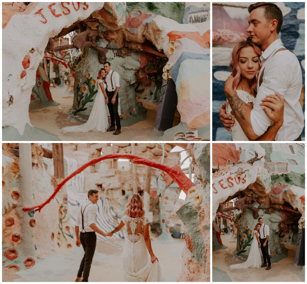 Salvation Mountain Elopement Palm Springs Pink Hair Bride - Jessica Heron Images_0123.jpg