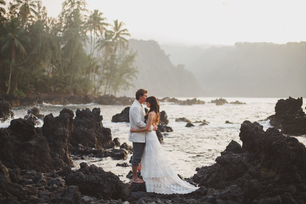 Hana, Maui Elopement Photography