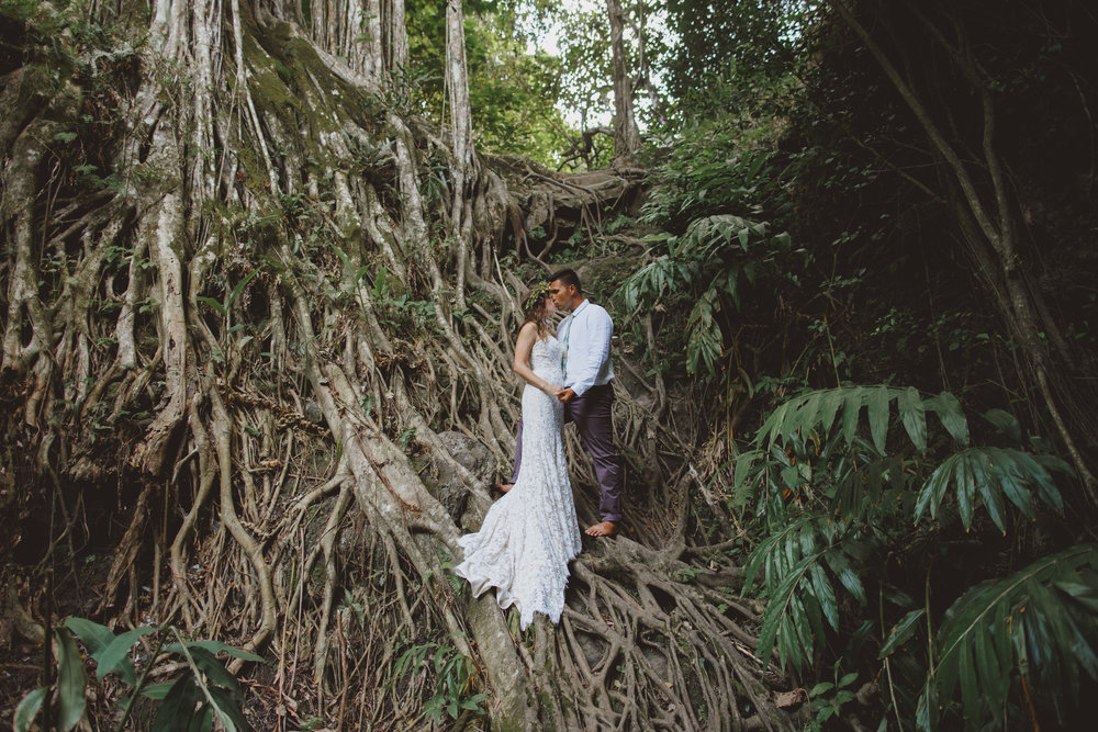 Hawaii elopement adventure