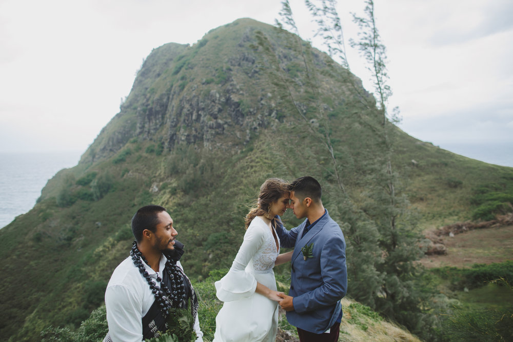 Hawaii Wedding elopement