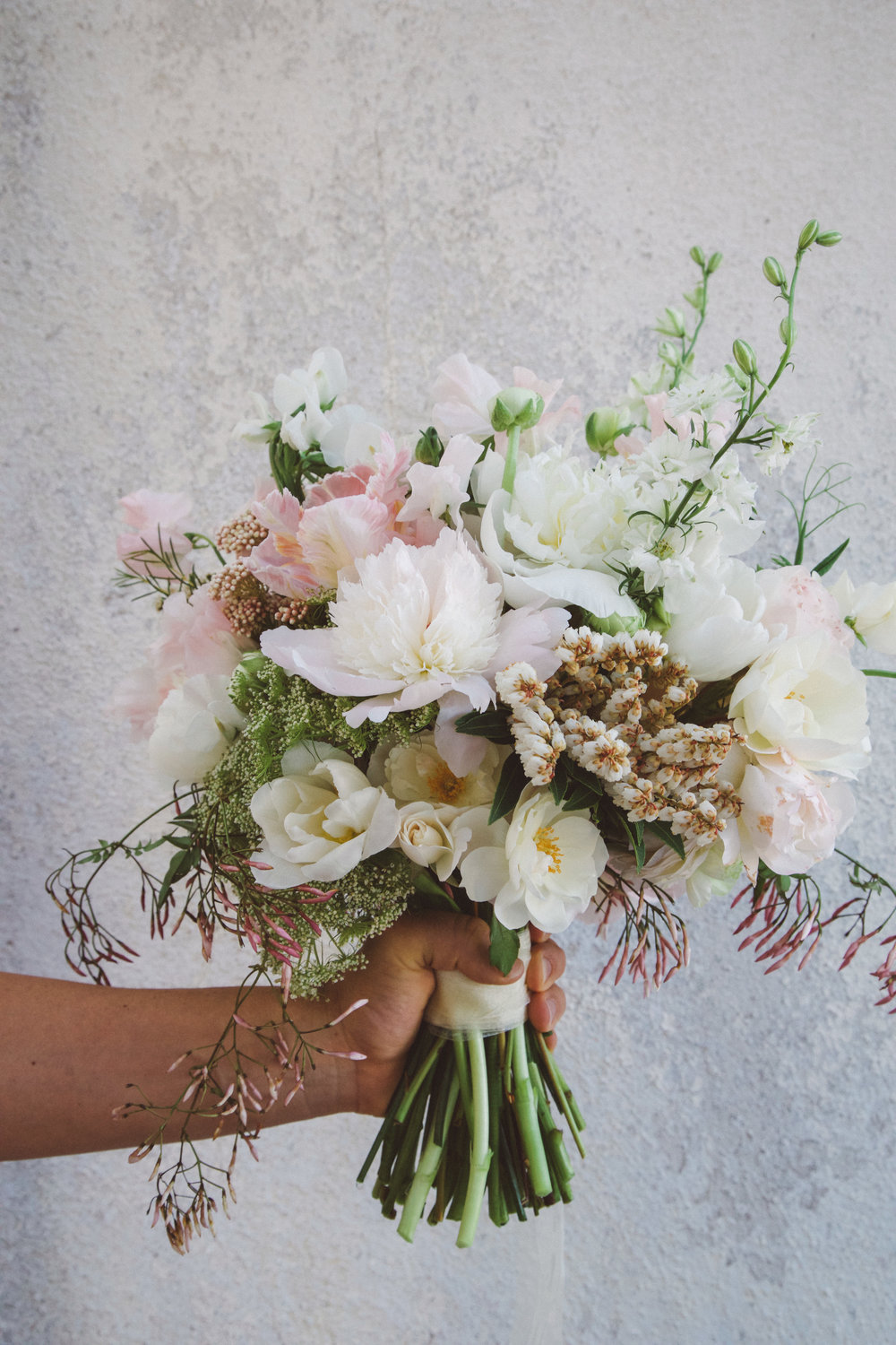 Bridal bouquet for Ojai wedding