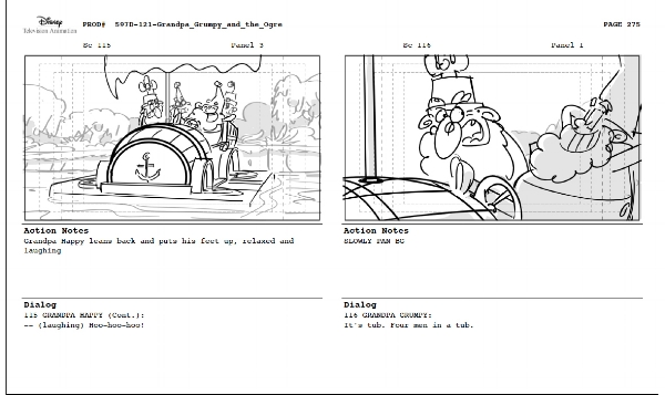 "The 7D episode ""Grandpa Grumpy and the Ogre"""