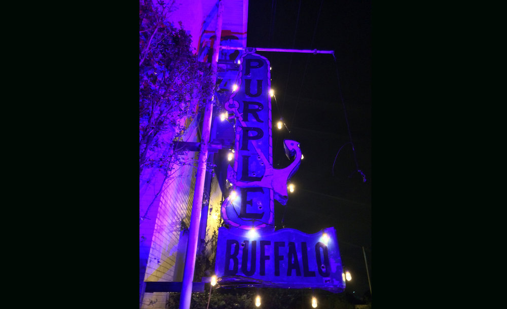 Want to host an event at the Purple Buffalo?    CONTACT US