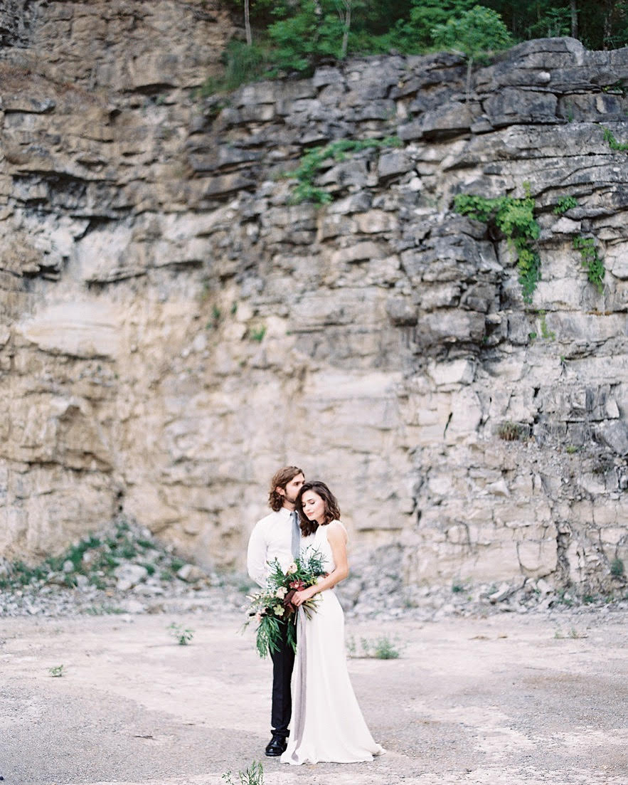 Quarry Wall - Photo by Leah Michelle Photography