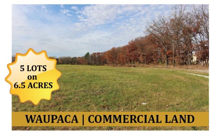 Commercial Land in Waupaca Wisconsin