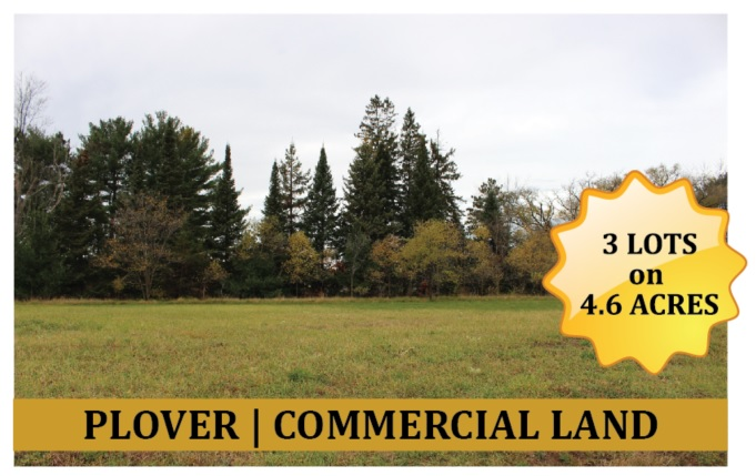 Commercial Land in Plover Wisconsin