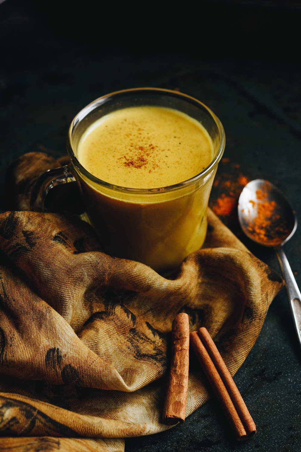 Luxurious Spiced Vegan Golden Milk
