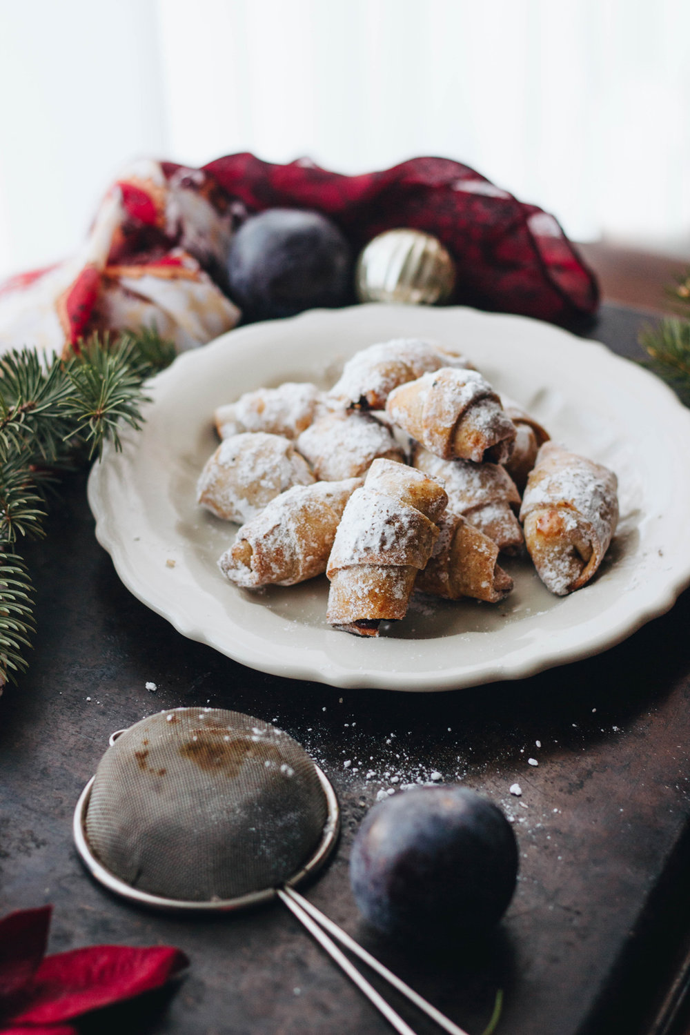 Sweet Sweet Holiday Treats: Plum Crescents