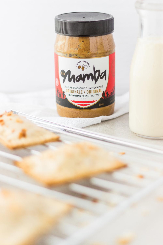 Vegan Banana and Peanut Butter Pop Tarts: Manba