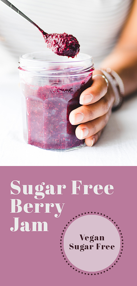 Sugar Free Berry Jam