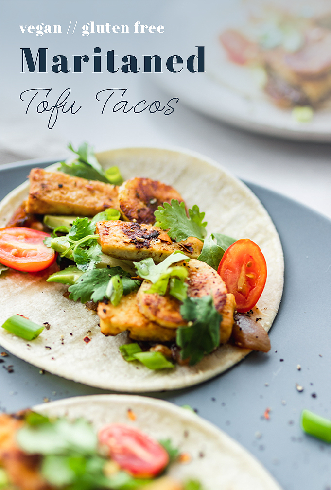 Marinated Tofu Tacos