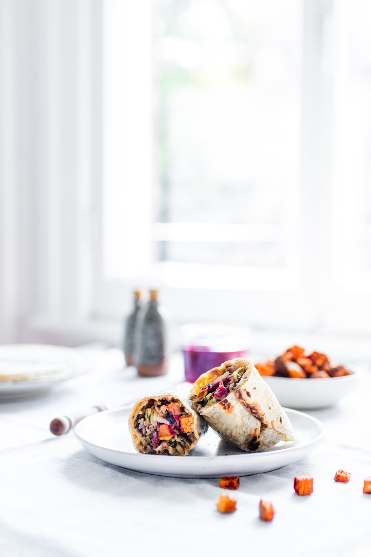 Fall Inspired Burrito Wrap