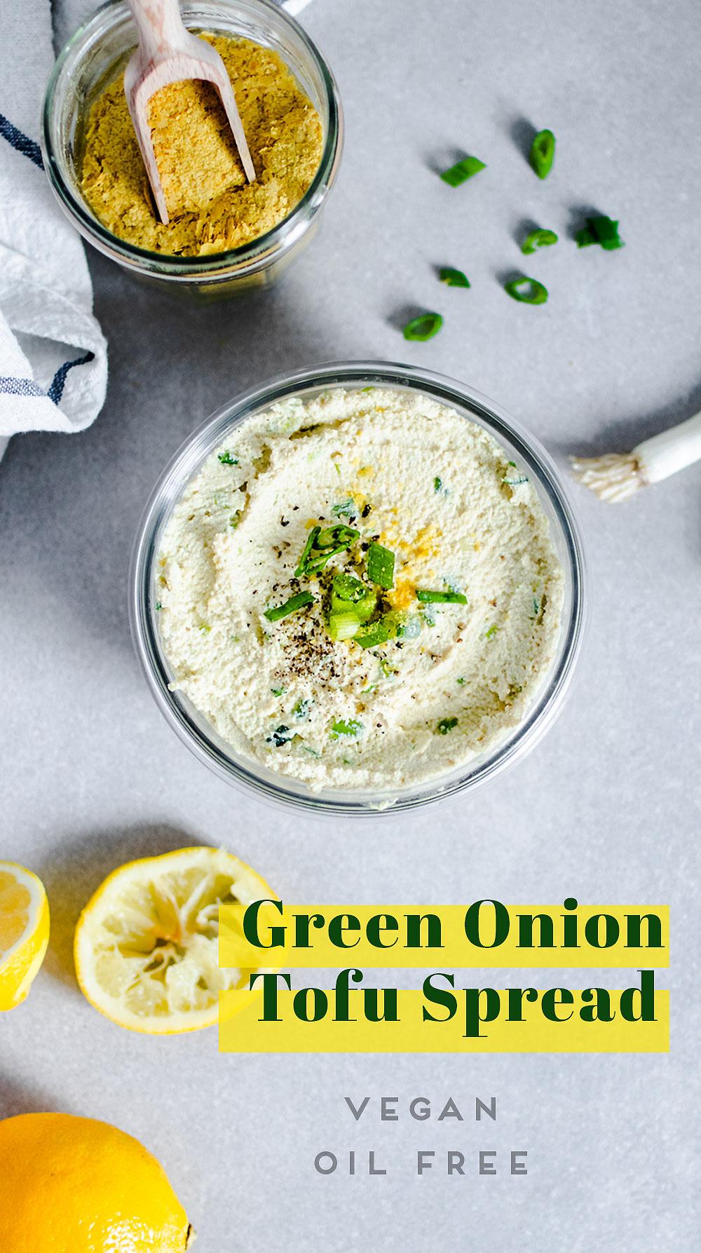 Green Onion Tofu Spread