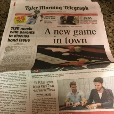 Tyler Morning Telegraph January 15, 2017
