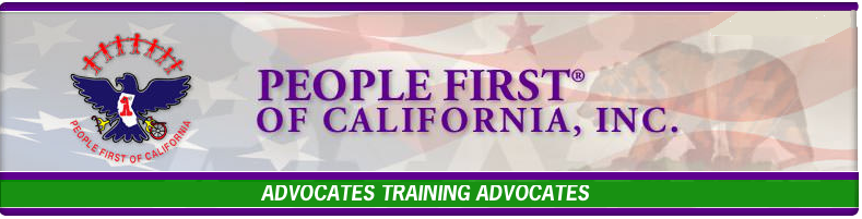 People First of California