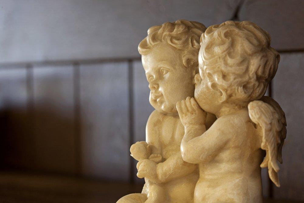 Cupids whispering sweet nothings....