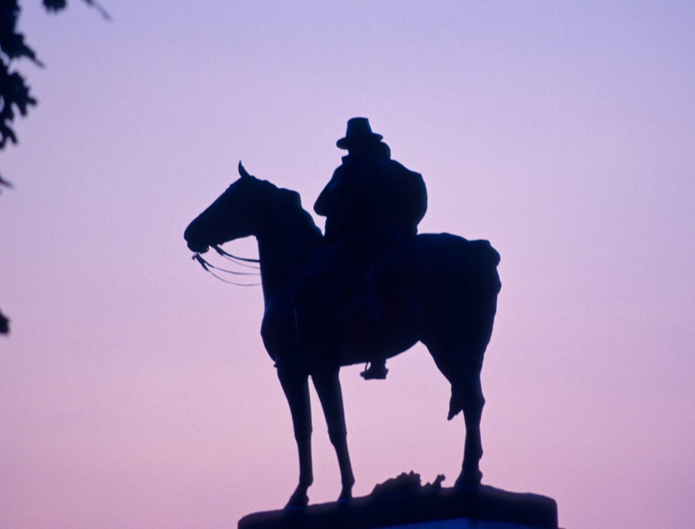 Ulysses S. Grant Memorial, Nikon N8008, Kodak Ektachrome 400