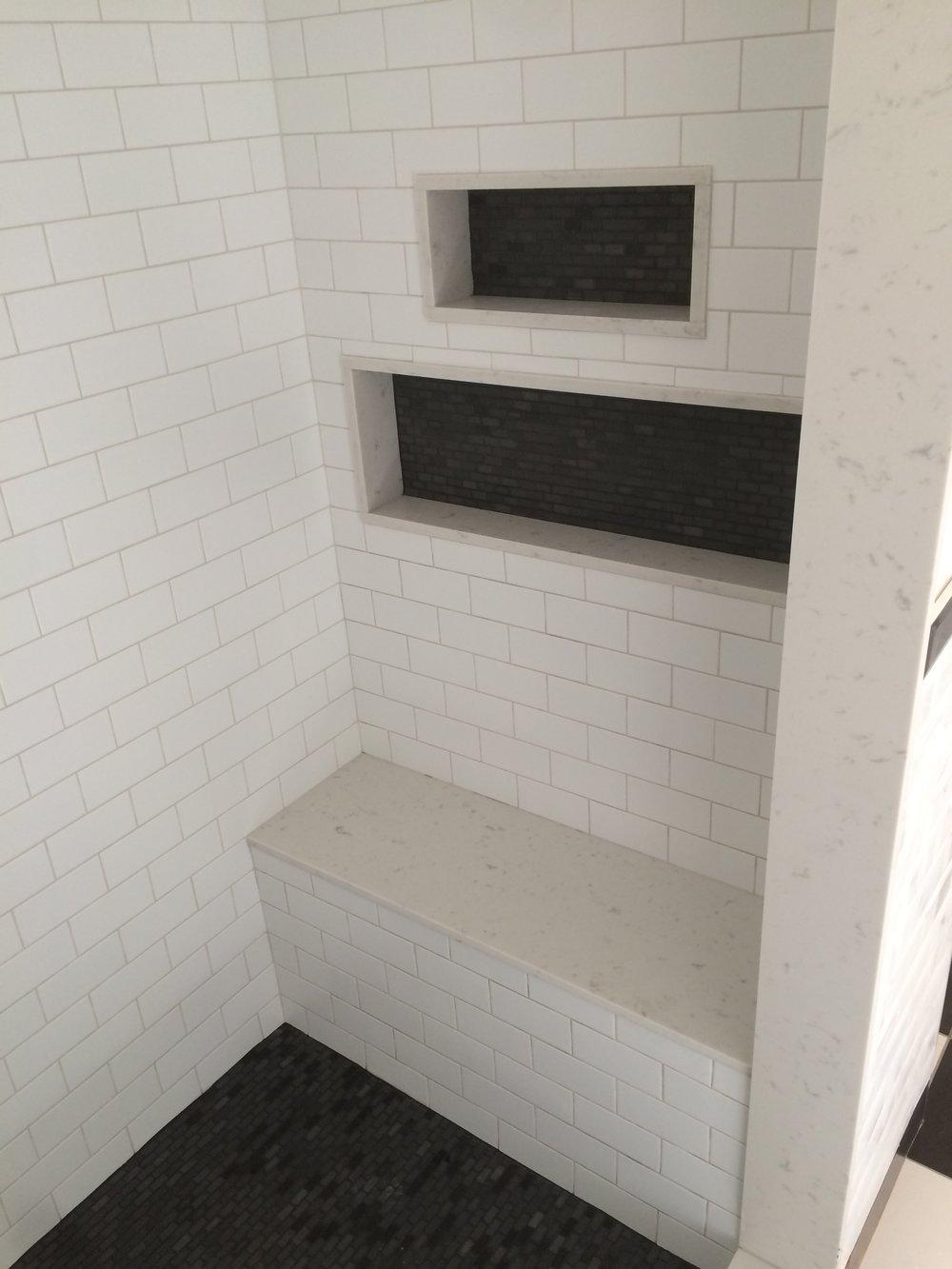 Gallery san marco tile white subway tile shower installation toronto dailygadgetfo Choice Image
