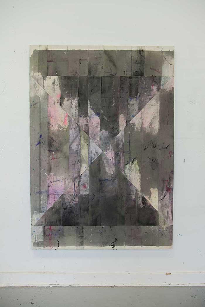 Colin Penno \Untitled stripes 19,2015