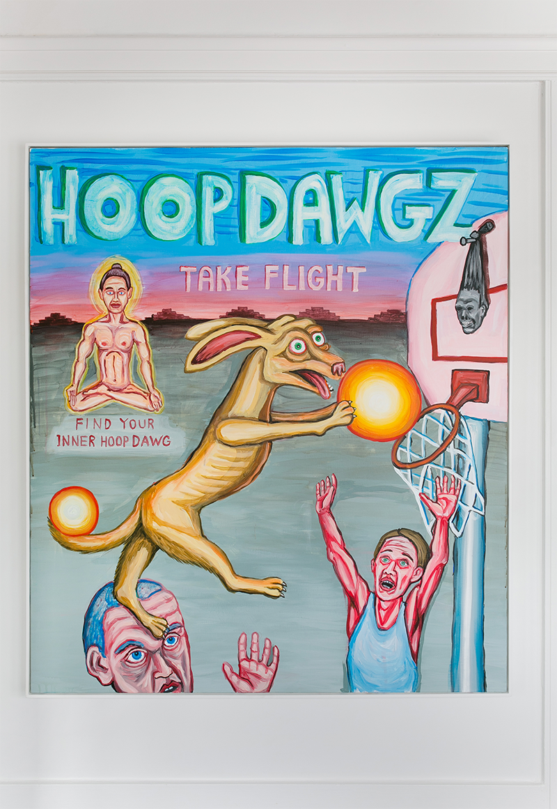Charles Irvin \ Hoop Dawgz, 2013 - © Emilia Jane for Collecteurs
