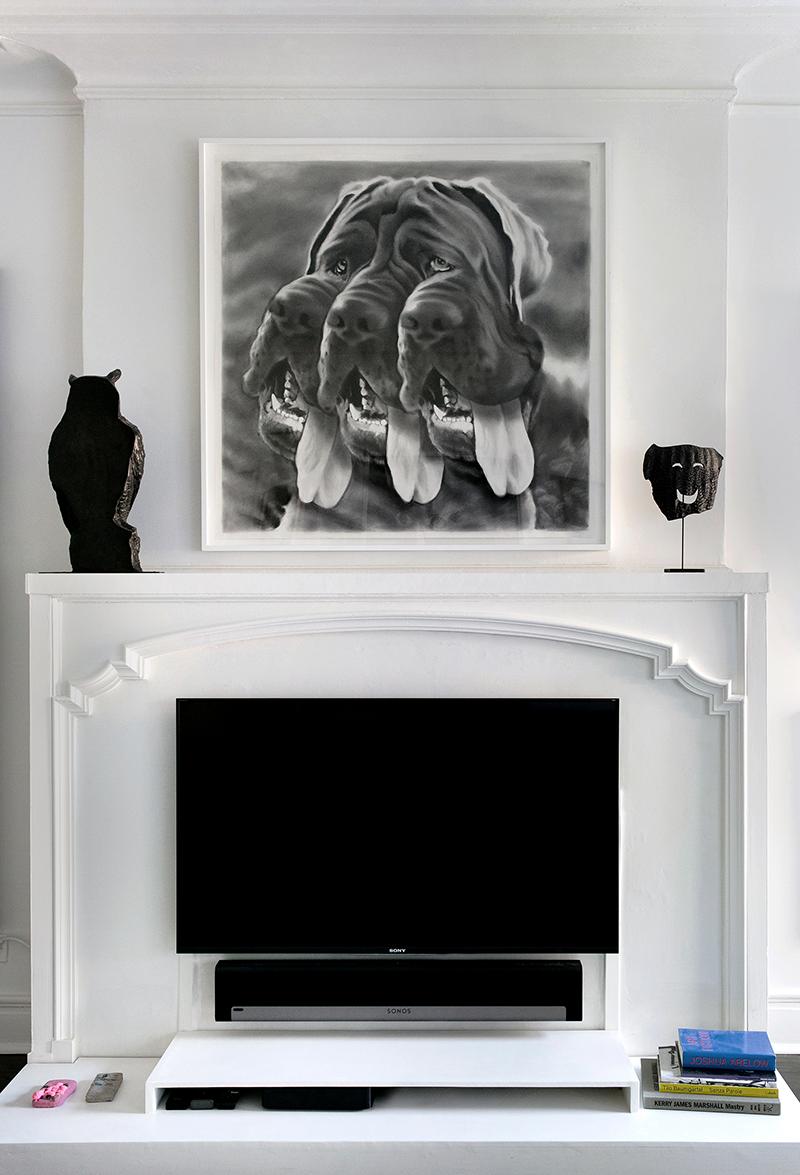 Eric Yahnker \ Three-Muzzled Mastiff,2015 &Sean Townley \ Untitled, 2014 &Sean Townley \ Untitled, 2014 - © Emilia Jane for Collecteurs
