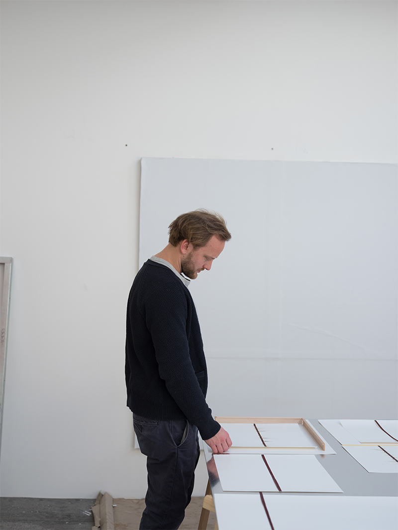Thomas Wachholz in his studio in Cologne. © Albrecht Fuchs for Collecteurs